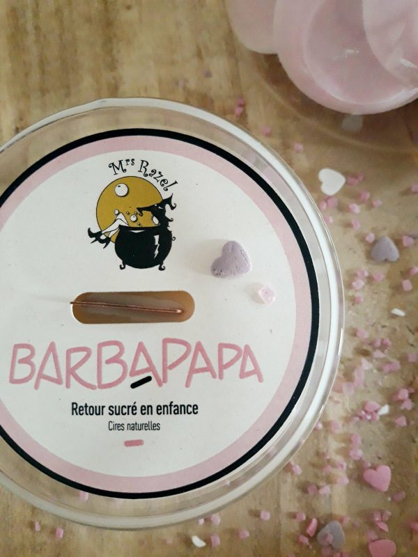 Bougie Barbapapa Mrs Razel