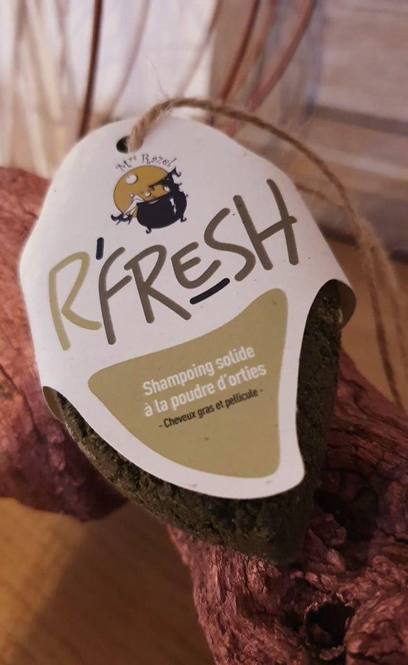 Shampoing solide R'Fresh Mrs Razel
