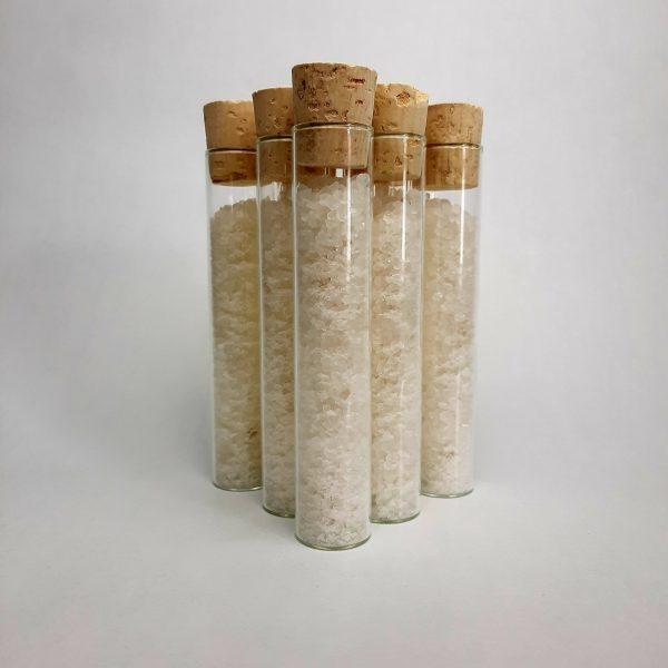 Fiole de sel de bain relaxant
